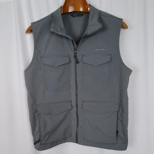 Eddie Bauer Men's Grey Travex Sporting Vest